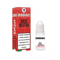 base neutra 18 mg/ml - 10ml...