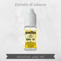 Double Tobacco nicotina 4mg...
